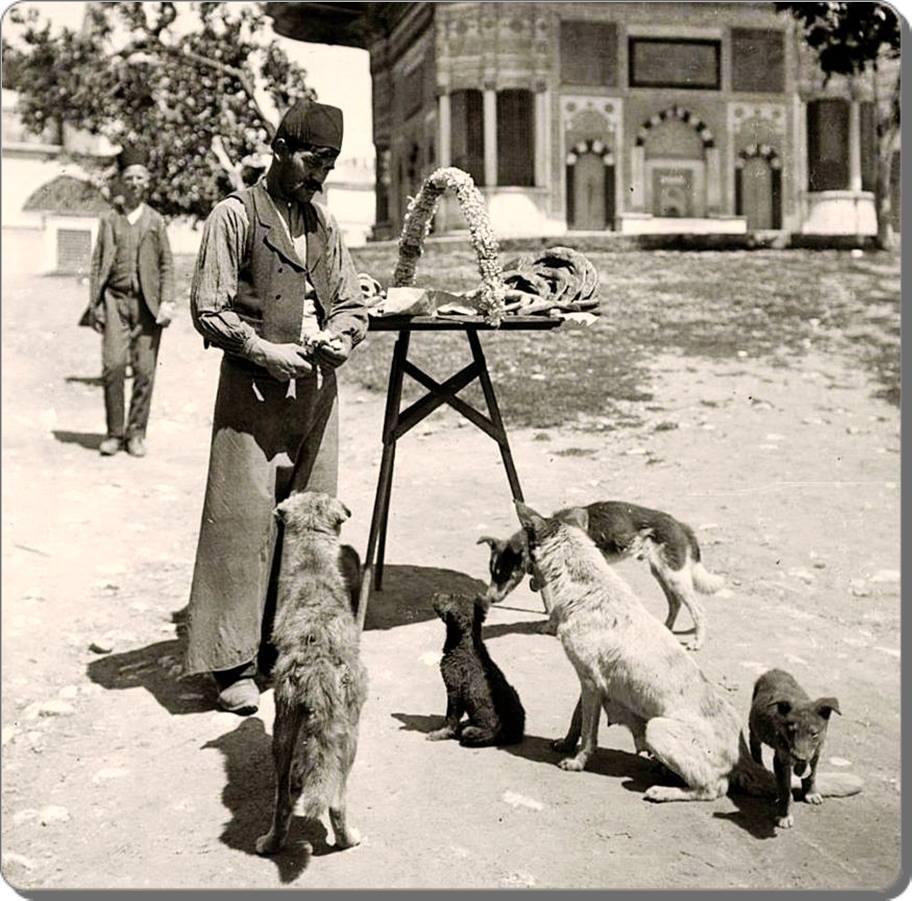 Eski Istanbul - Sultanahmet Simitci 1880 ler