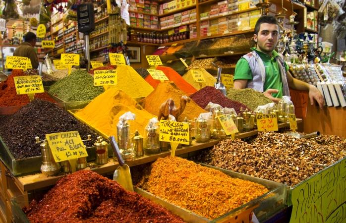 İstanbul'da yapılacak şeyler, Mısır Çarşısı